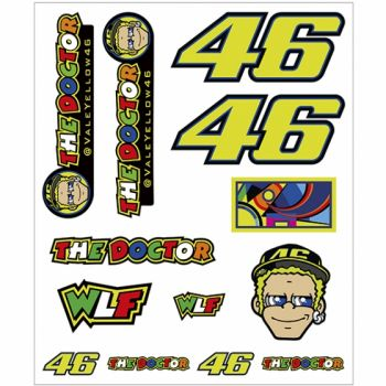 VR46 Sticker Big Set Classic