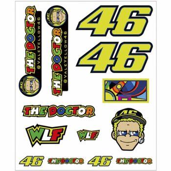 VR46 Sticker Big Set Classic