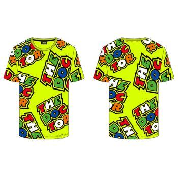 VR46 All Over Multi T-Shirt