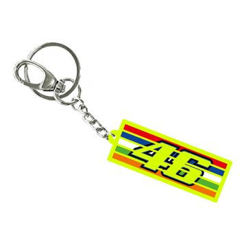 VR46 Stripes Multi Key Ring