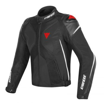 Dainese Super Rider D-Dry Jacket Black/White
