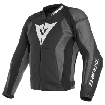 Dainese Nexus Leather Jacket-Grey