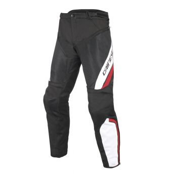 Dainese Drake Air D-Dry Pants-White/Red