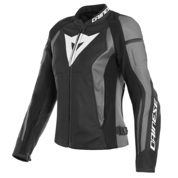 Dainese Nexus Lady Leather Jacket-Grey