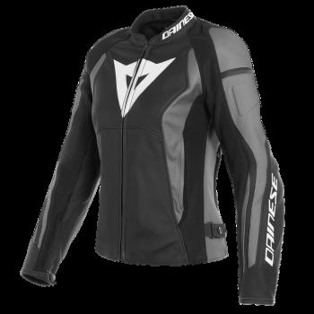 Dainese Nexus Lady Leather Jacket-Grey