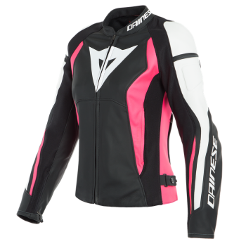 Dainese Nexus Lady Leather Jacket-Pink