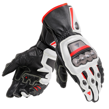 Dainese Full Metal 6 Gloves White/Red