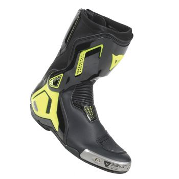 Dainese Torque Out D1 Boot Fluro Yellow