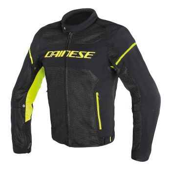 Dainese Air Frame D1 Jacket Black/Yellow Fluro