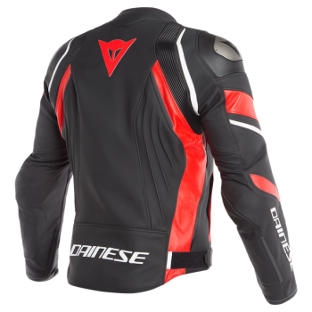 Dainese Avro 4 Leather Jacket-red