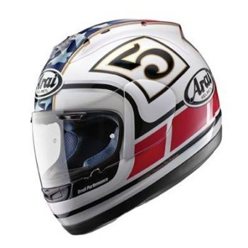 Arai Chaser-X Edwards Replica White