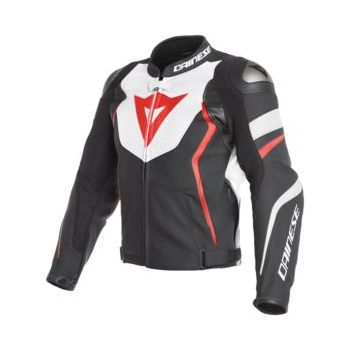Dainese Avro 4 Leather Jacket-FLUO