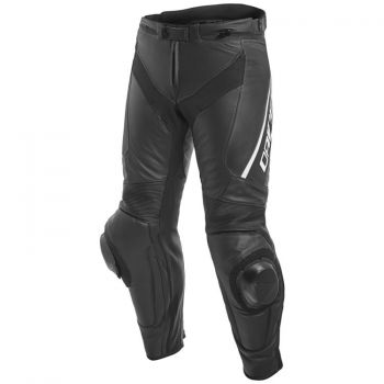 Dainese Delta 3 Leather Pants-Black