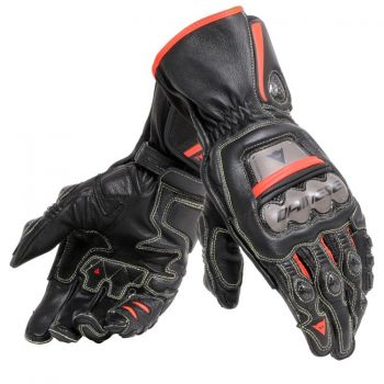 Dainese Full Metal 6 Gloves Fluro Red