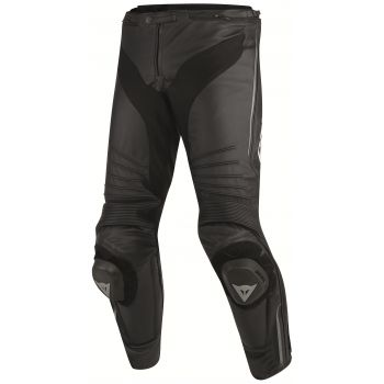 Dainese Misano Leather Pants-Black