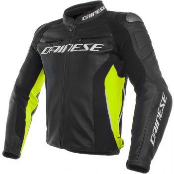 Dainese Racing 3 Jacket Yellow