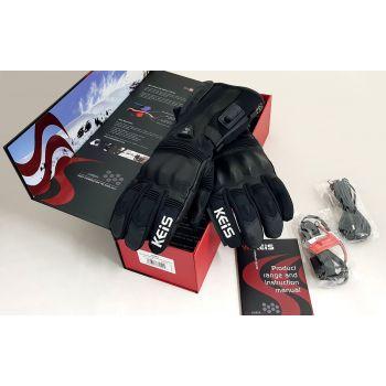 Keis G601 Premium Heated Gloves