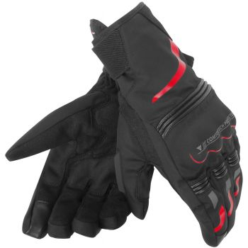 Dainese Tempest D-Dry Glove Short Red