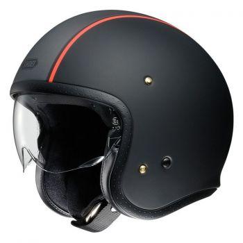 Shoei J-O CArburettor Black/Orange