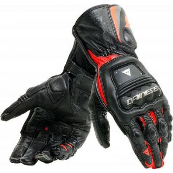 Dainese Steel-Pro Gloves BLK/FLUO-RED